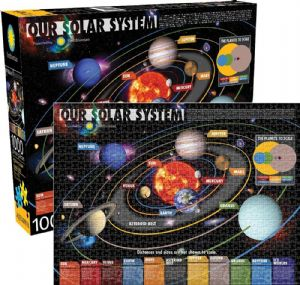 Our Solar System (Smithsonian) 1000 piece jigsaw puzzle   690mm x 510mm   (nm 65254)